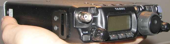 Приёмник FT-817 сделан по классической схеме.  КВ сигнал с антенного разьёма, поступает на ФНЧ (полосовых фильтров у...