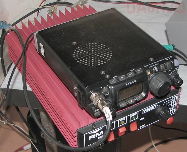такие: FT-817 + KL-500